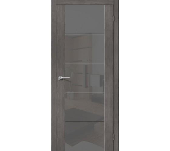 Межкомнатная дверь V4 Grey Veralinga Smoke