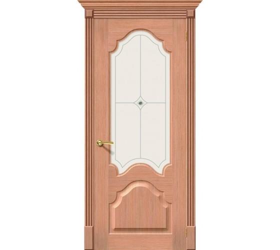 Межкомнатная дверь Афина Дуб (Ф-01) White Crystal