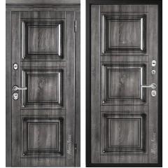 Дверь входная металличекая МетаЛюкс Альянс М705/4 Статус