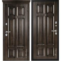 Дверь входная металличекая МетаЛюкс Идеал М706/2 Статус