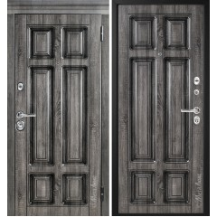 Дверь входная металличекая МетаЛюкс Идеал М706 Статус