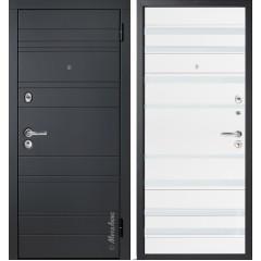 Дверь входная металличекая МетаЛюкс Лайн М700/2 Статус