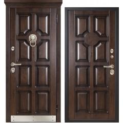 Дверь входная металличекая МетаЛюкс Леон М707/2 Статус