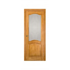 Межкомнатная дверь Массив сосны Модель №7 (без рамки) ДО